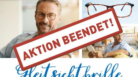 Gleitsichtbrille – Aktion